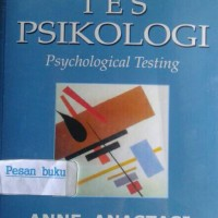 Buku Tes Psikologi Edisi 7 (ASLI)