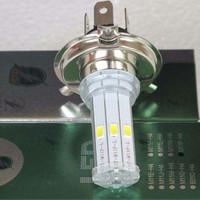harga Rtd Lampu Led Motor / Mobil 6 Sisi M11p Dc H4 / Hs1 Kaki 3 Tokopedia.com