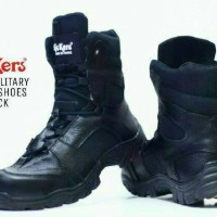 BEST SELLER SEPATU DELTA KICKERS SAFETY ARMY TACTICAL TERBARU HITAM
