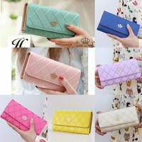 (Sale) Dompet wanita import jeslyn wallet fashion lucu cewek korea mur