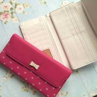 [Promo] Dompet Korea Wanita Canlav Purple Wallet Cewek Import