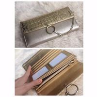[Ori] Dompet wanita cewek batam import branded murah hadiah, Chloe wal