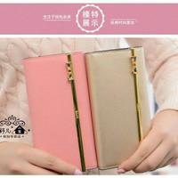 (Sale) Kqueenstar/queenstar wallet Gold dompet cewek wanita murah