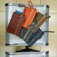 (New) dompet tas tangan wanita kulit sapi asli clutch handbag cewek