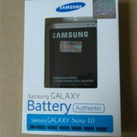 100% Original Battery Batere Batre Baterai Samsung Galaxy Note 3 Note3