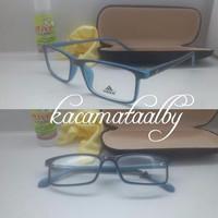 kacamata adidas hitam biru 555 gratis lensa