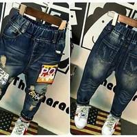 Jeans Stick Batman | Jeans Anak | Celana Anak | Celana Jeans
