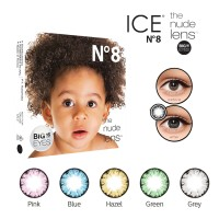 Jual Soflens X2 Ice N8 softlens MINUSdan NORMAL softlense Big Real 16mm Murah