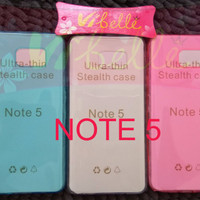 Ultrathin Softcase Samsung Galaxy Note 5 N920 Soft Jely Case Note5