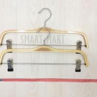 Hanger Kayu Jepit Zara Exclusive Boutique Wood Hanger Gantungan Baju