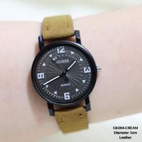 Jam tangan wanita guess leather grosir import termurah import fossil