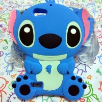 Oppo Neo 7 A33 Silicon 3D Kartun Disney Stitch #3 Softcase Casing Hp