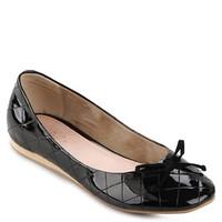 Regatta Black Flat Shoes by Dir & Co