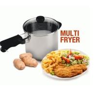 Multi Deep Fryer 18 - Goreng Kentang, Ayam, Tempura, Wajan Serbaguna