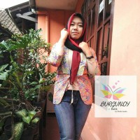 blezer batik wanita