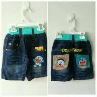 Celana Anak Jeans Pendek Doraemon