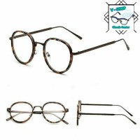 frame bingkai kacamata untuk pria dan wanita free lensa