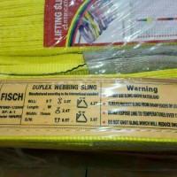 webbing sling 3ton 10meter sabuk angkat ikat barang sling belt fisch