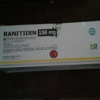 Ranitidin 150 mg (10 lbr @ 10 tab