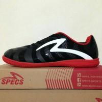 SEPATU FUTSAL SPECS TORPEDO IN BLACK RED 400477 ORIGINAL 100%