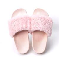 furry sandal