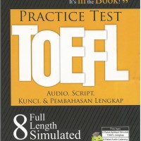harga Toefl (practice Test) Tokopedia.com