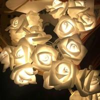 Jual bunga mawar elektrik / lampu kembang LED / hiasan rumah / kamar tidur Murah