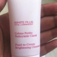 Clarins White Plus Pearl to Cream Brightening Cleanser 30ml
