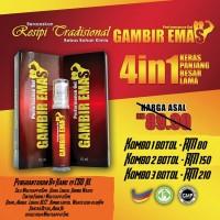 GAMBIR EMAS Performance Gel Obatkuat PRIA /perkasa No.1 di Malaysia