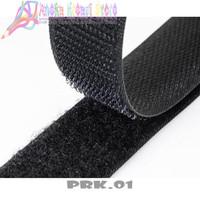 PRK01 - Velcro Tape Perekat Hitam Uk 25mm ( Permeter )