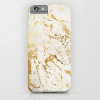Gold marble iPhone 5C