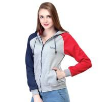 Jual jaket wanita sweater hoodie zipper distro infl original terbaru Murah