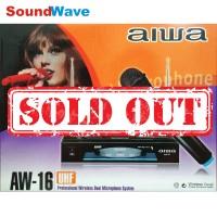 AIWA AW-16 WIRELESS MIC/MIK/MICROPHONE/MIKROFON AW16