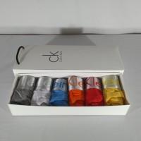 Paket 6 Pcs Celana dalam Segitiga Calvin Klein Steel trunk