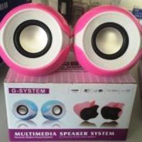 Active Speaker USB PC Laptop HP Multimedia speker Murah standar aktif