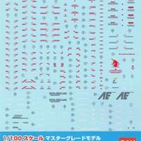 1/100 GD-44 MG RX-0 Unicorn Gundam Ver. Ka Decal