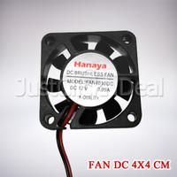Fan DC 12V 4x4 cm VGA CPU GPU Kipas Mini 4 cm x 4cm Pendingin Cooler