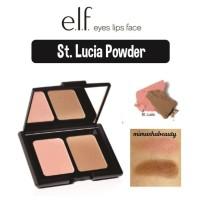 ELF E.L.F Studio Contouring Blush & Bronzing Bronzer Powder St. Lucia