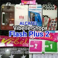 Tempered Glass untuk ALCATEL FLASH PLUS 2 Screen Guard Anti Gores Kaca