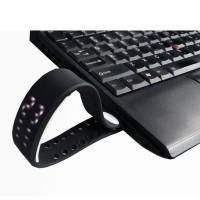 W2 Gelang LED Sport Multifungsi Pedometer Kalori Meter - Black