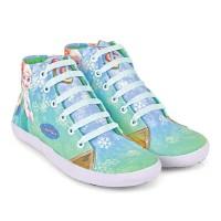 Sepatu Anak Perempuan, Sepatu Sekolah Anak Cewek, FROZEN, C6-310CNC