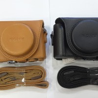 SONY LCJ-HWA Leather case for sony DSC-HX90V , WX500