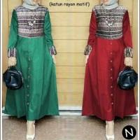 7372/maxi melinda/long dress maxi/dress muslim/long dress katun