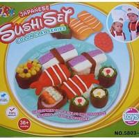 Dough Sushi Plate