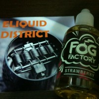 FOG FACTORY STRAWBERRY 55ML 3MG - PREMIUM MALAYSIA