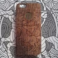 iPhone 6 Casing Kayu - Sagitarius