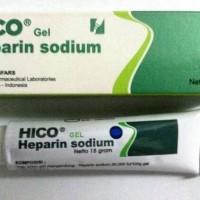 HICO GEL 15 GRAM HEPARIN SODIUM
