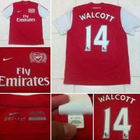 JERSEY ARSENAL ORIGINAL HOME 2011/2012 FLY EMIRATES SIZE L EXCELLENT