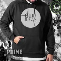 Hoodie Good Ideas - Hitam