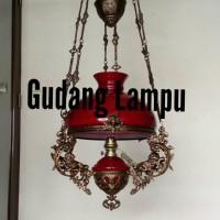 Lampu Gantung Antik Kerek R40 / Betawi jadol